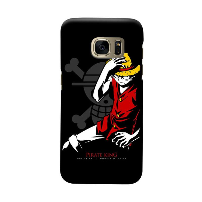 Indocustomcase Anime One Piece Character OP06 Cover Casing for Samsung Galaxy S7 Edge