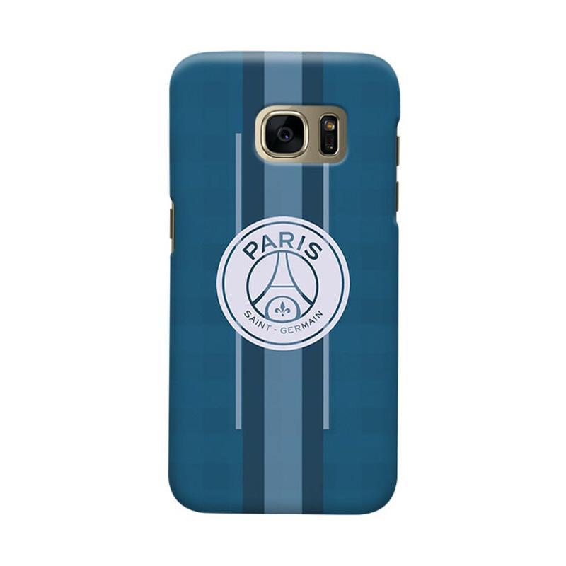 Indocustomcase Paris Saint Germain FC PSG02 Casing for Samsung Galaxy S7 Edge