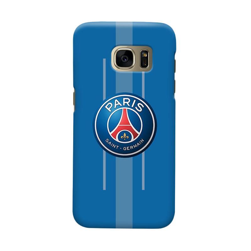Indocustomcase Paris Saint Germain FC PSG03 Casing for Samsung Galaxy S6 Edge