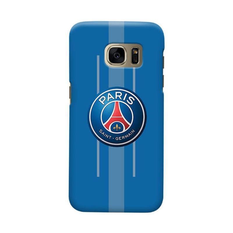 Indocustomcase Paris Saint Germain FC PSG03 Cover Casing for Samsung Galaxy S7 Edge