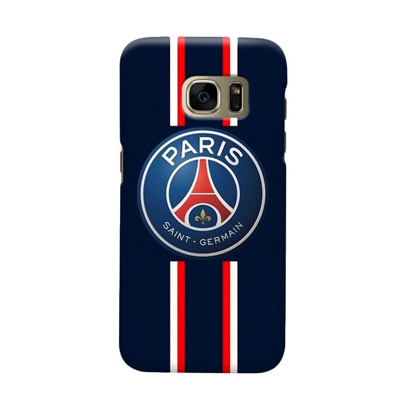 Indocustomcase Paris Saint Germain FC PSG04 Casing for Samsung Galaxy S6 Edge