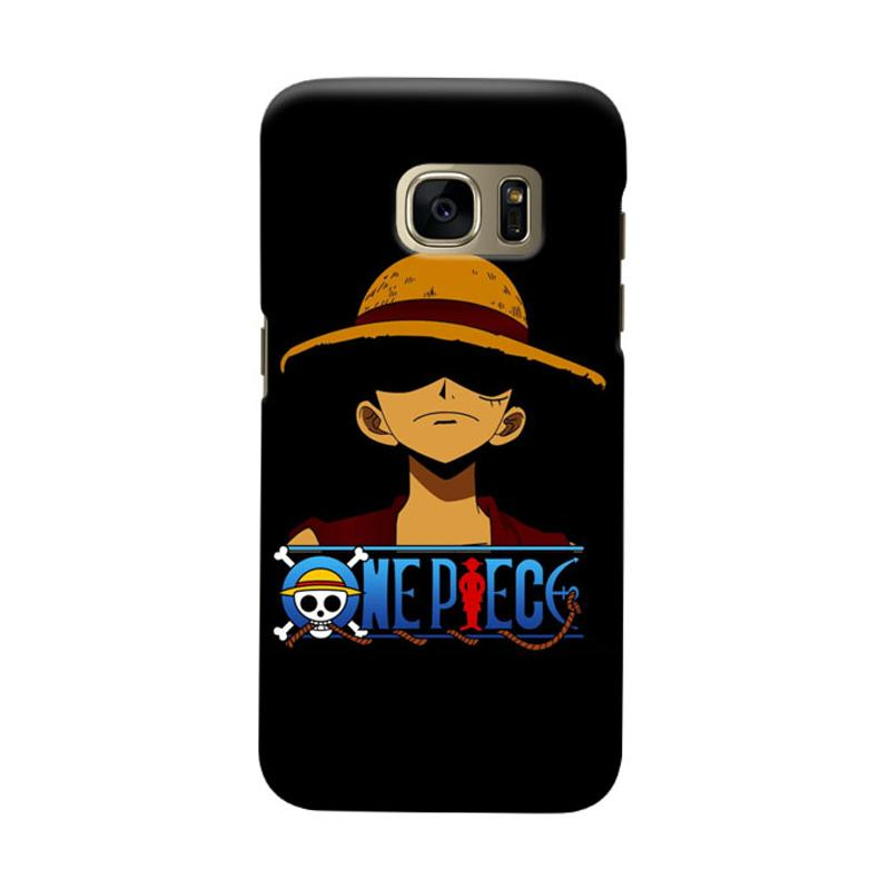 Indocustomcase Anime One Piece Character OP09 Cover Casing for Samsung Galaxy S6 Edge