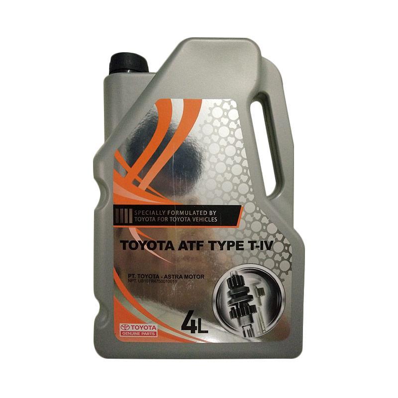Toyota T4 Oli Transmisi Automatik Matik AT Galon for Fortuner/Innova/Avanza/Xenia [4 Liter]
