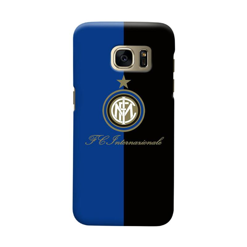 Indocustomcase FC internazionale Milan IM01 Cover Casing for Samsung Galaxy S7 Edge