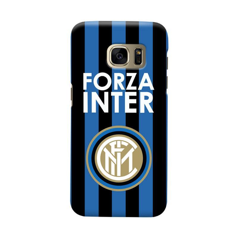 Indocustomcase FC internazionale Milan IM02 Cover Casing for Samsung Galaxy S6 Edge