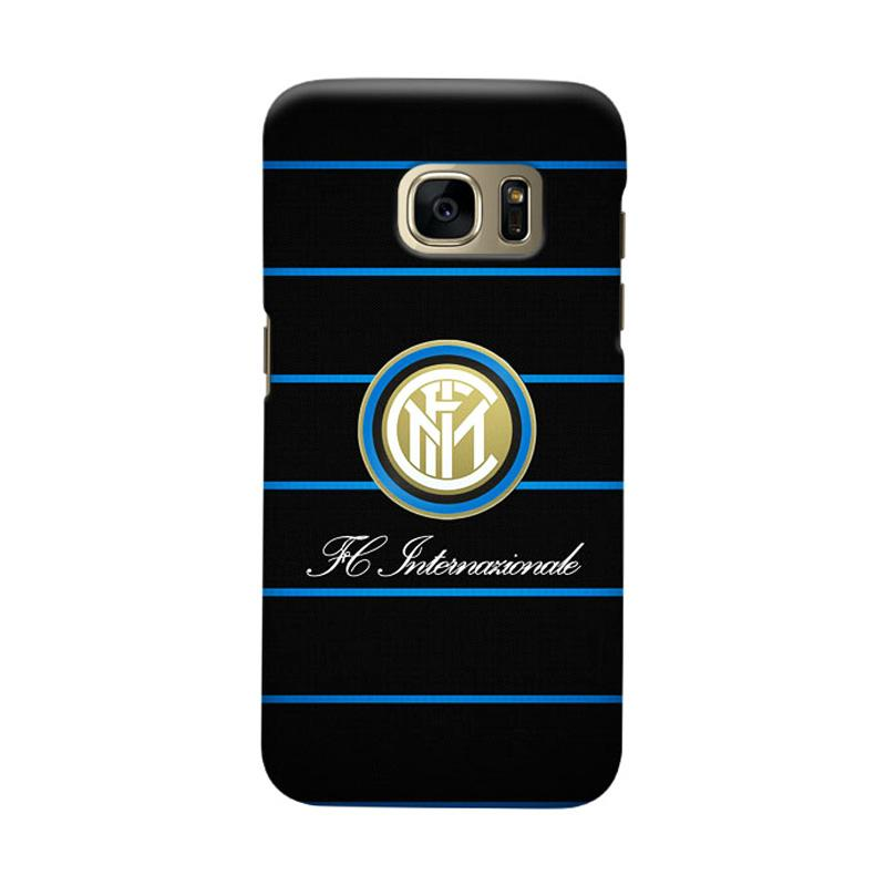 Indocustomcase FC internazionale Milan IM03 Cover Casing for Samsung Galaxy S6 Edge