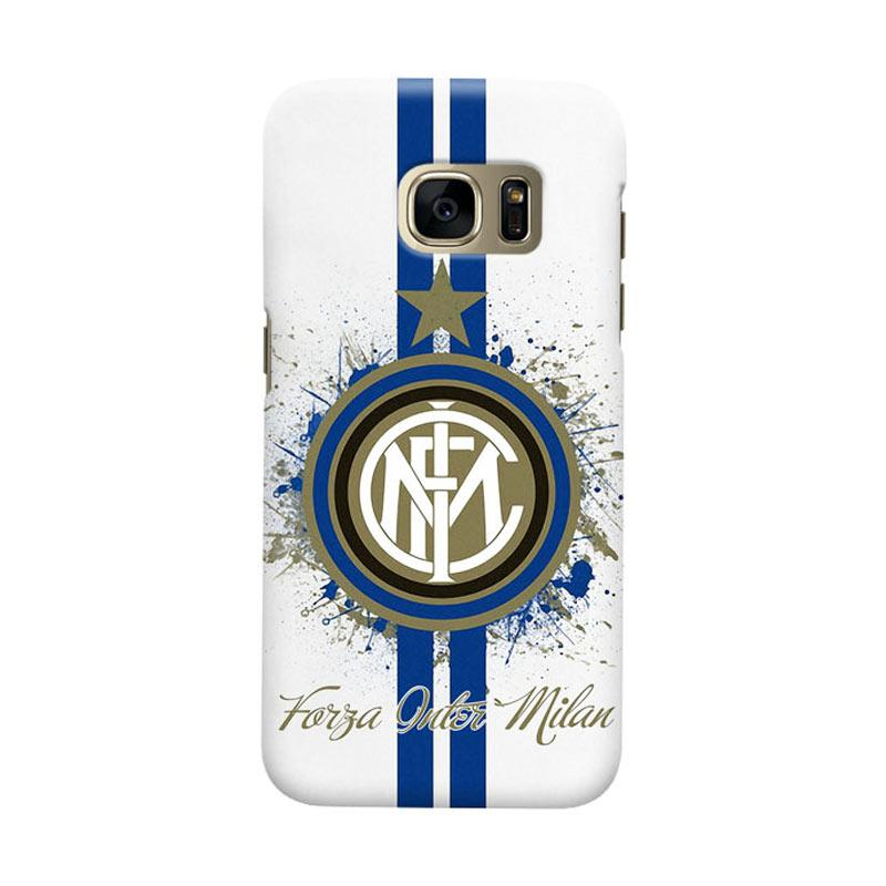 Indocustomcase FC internazionale Milan IM04 Cover Casing for Samsung Galaxy S6 Edge