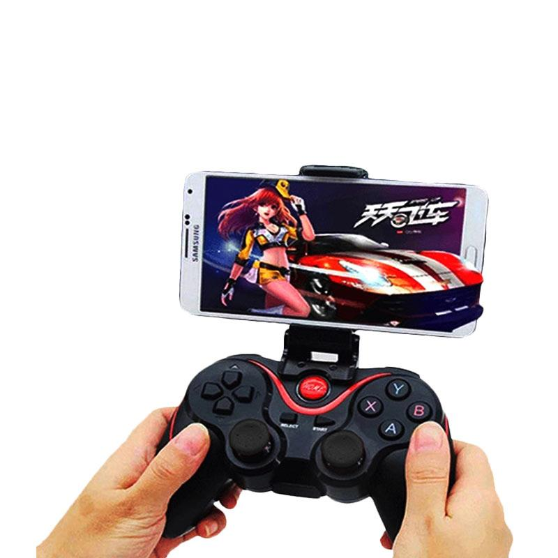 harga Terios T3 Wireless Bluetooth Gamepad with Holder and Micro SD Memory Card [T3+Holder+8GG02] Blibli.com