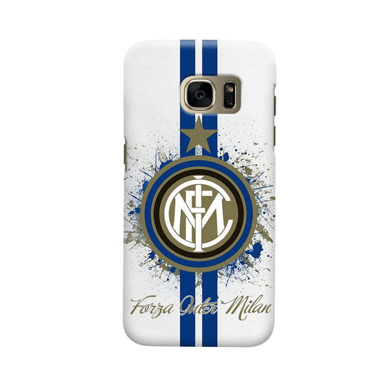 Indocustomcase FC internazionale Milan IM04 Cover Casing for Samsung Galaxy S7 Edge