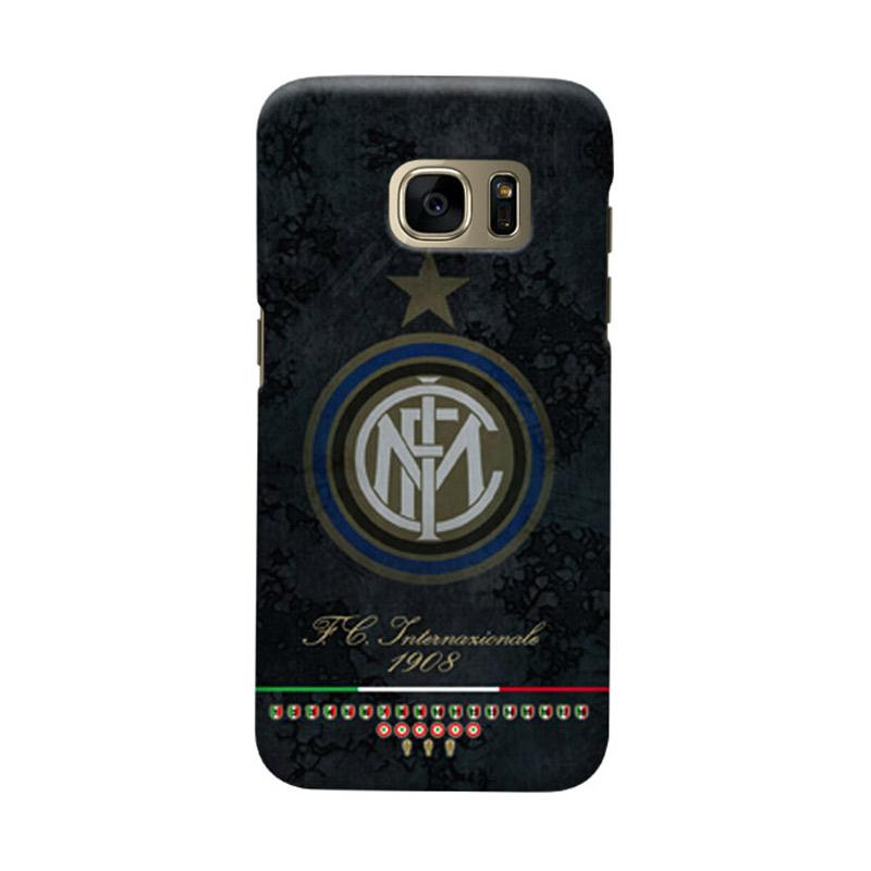 Indocustomcase FC Internazionale Milan IM05 Cover Casing for Samsung Galaxy S6 Edge
