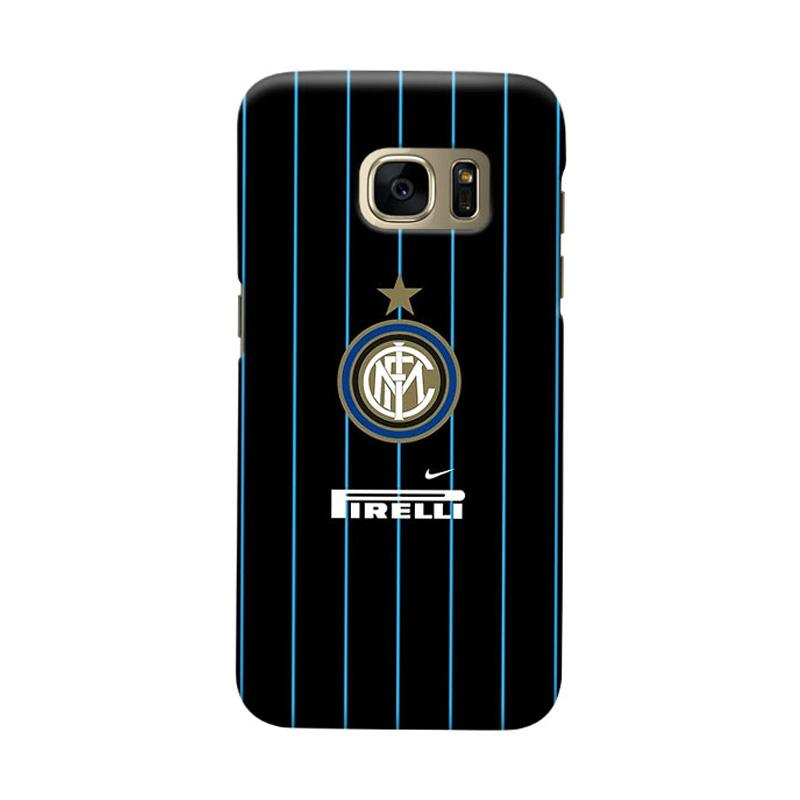 Indocustomcase FC internazionale Milan IM06 Cover Casing for Samsung Galaxy S6 Edge