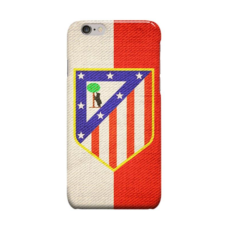 Indocustomcase Atletico Madrid Vintage Logo Casing for Apple iPhone 6 Plus or 6S Plus