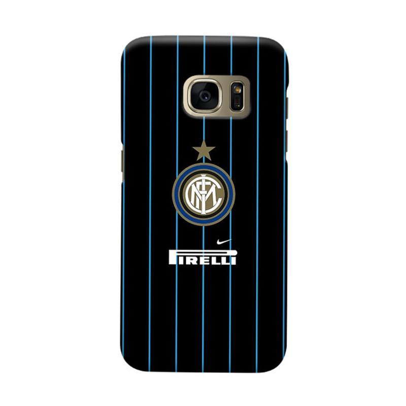 Indocustomcase FC internazionale Milan IM06 Cover Casing for Samsung Galaxy S7 Edge
