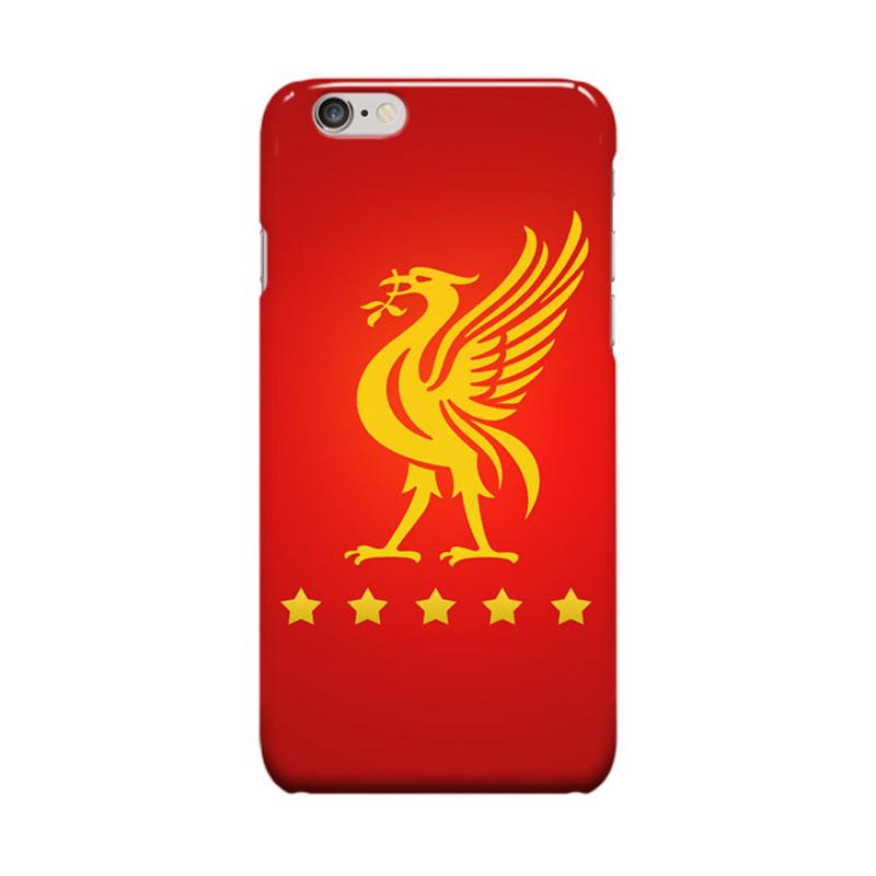 Indocustomcase Liverpool FC YNWA RB08 Cover Casing for Apple iPhone 6 Plus or 6S Plus