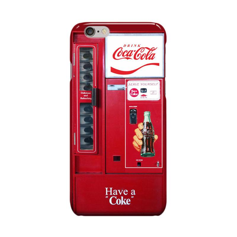Indocustomcase Coca Cola Vending Machine Cover Casing for Apple iPhone 6 Plus or 6S Plus