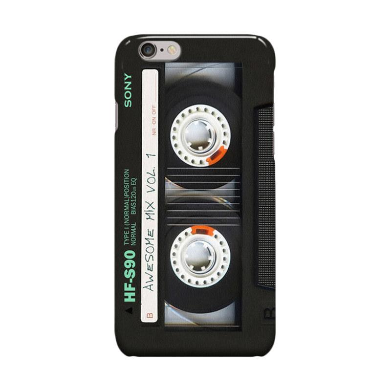 Indocustomcase Sony Cassette Classic Mix Cover Casing For iPhone 6 Plus or 6S Plus
