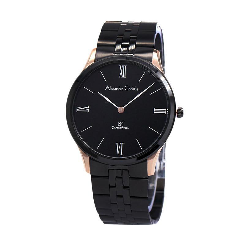 alexandre christie 8508 jam tangan wanita hitam