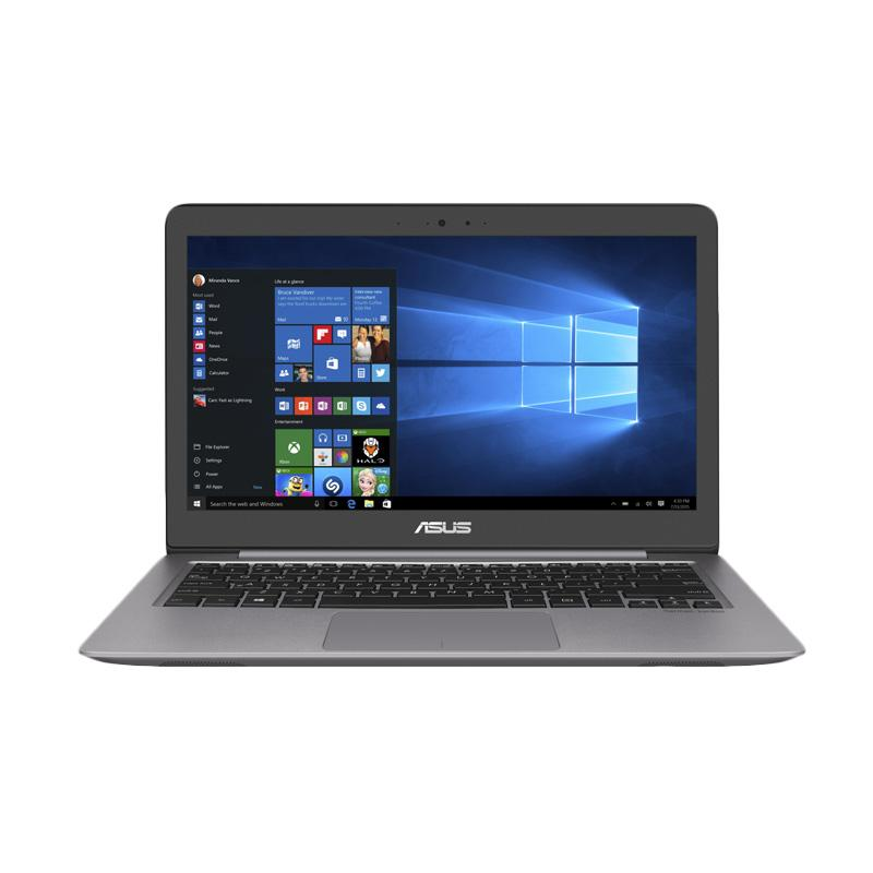 Asus Zenbook UX310UQ-FC337T Notebook - Quartz Grey [i7-7500U/GeForce 940MX/8GB RAM/1 TB HDD+128 GB SSD/13.3 Inch/Win10]