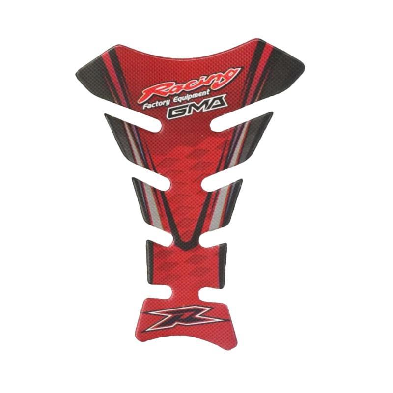 harga Raja Motor Aksesoris Motor Sticker Pelindung Tangki Polos Model Sirip - Merah [PET9125-Merah] Blibli.com