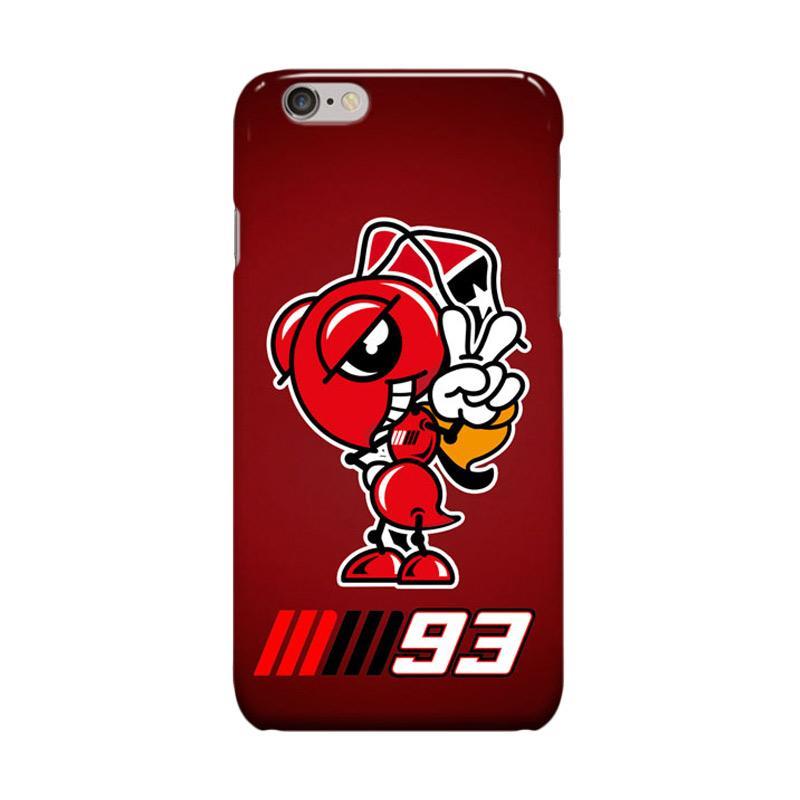 Indocustomcase Marc Marquez Ant Logo Signed Casing for Apple iPhone 6 Plus or 6S Plus