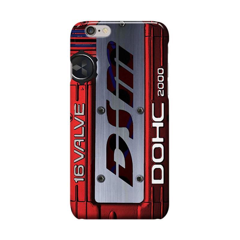 Indocustomcase Mitsubishi Cover DSM Cover Casing for Apple iPhone 6 Plus or 6S Plus