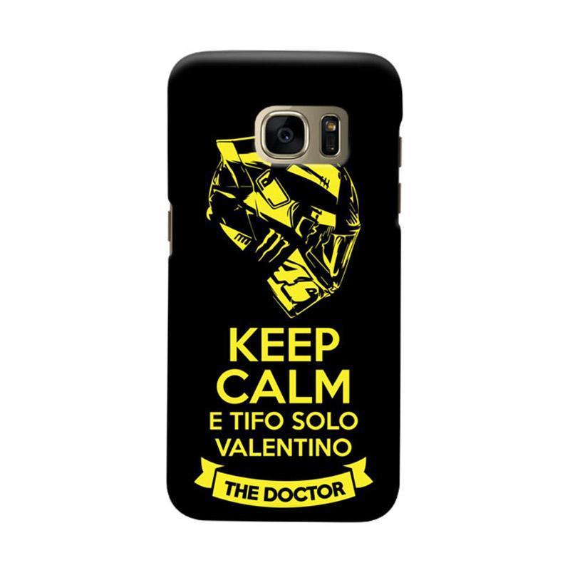 Indocustomcase Keep Calm E Tifo Solo Valentino Cover Casing for Samsung Galaxy S6
