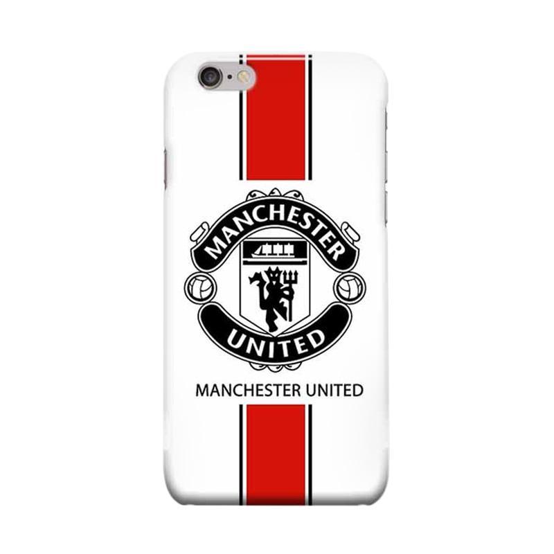 Indocustomcase Menchester United Logo MANU02 Casing for Apple iPhone 6 Plus or 6S Plus