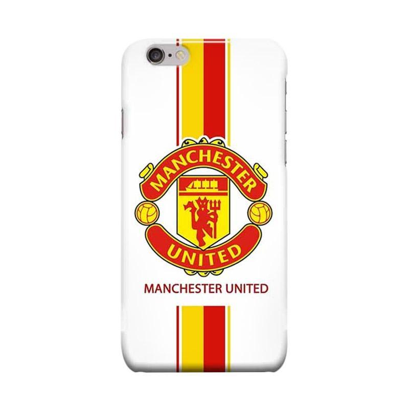 Indocustomcase Menchester United Logo MANU03 Casing for Apple iPhone 6 Plus or 6S Plus