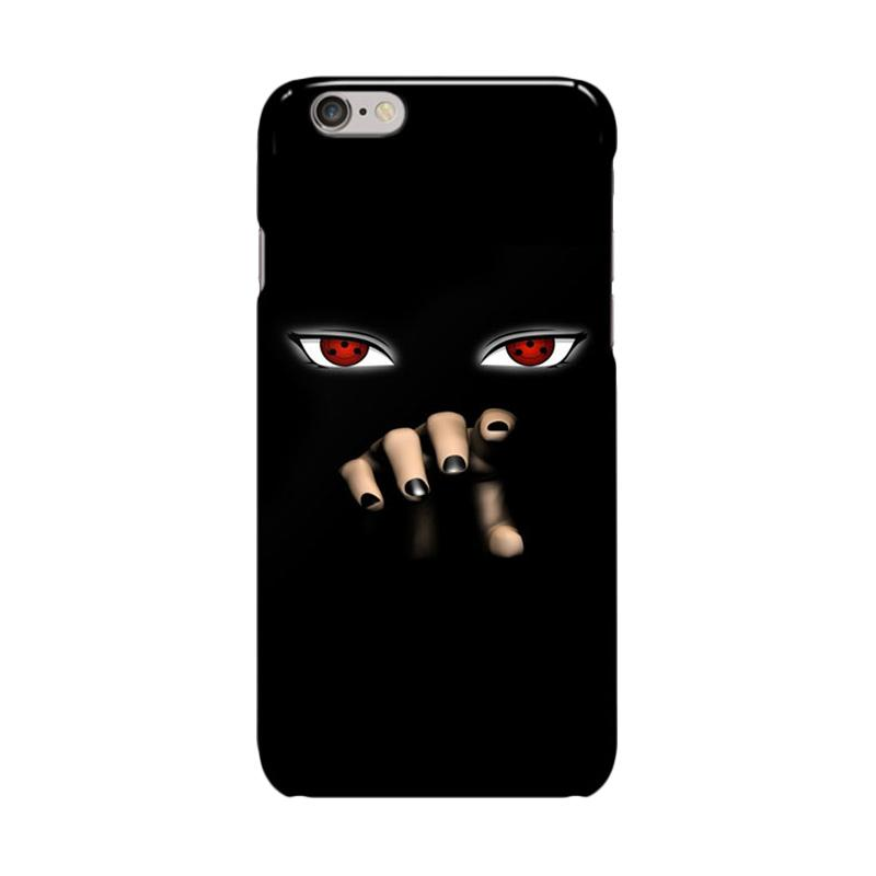 Indocustomcase Anime Naruto Series ID04 Cover Casing for Apple iPhone 6 Plus or 6S Plus