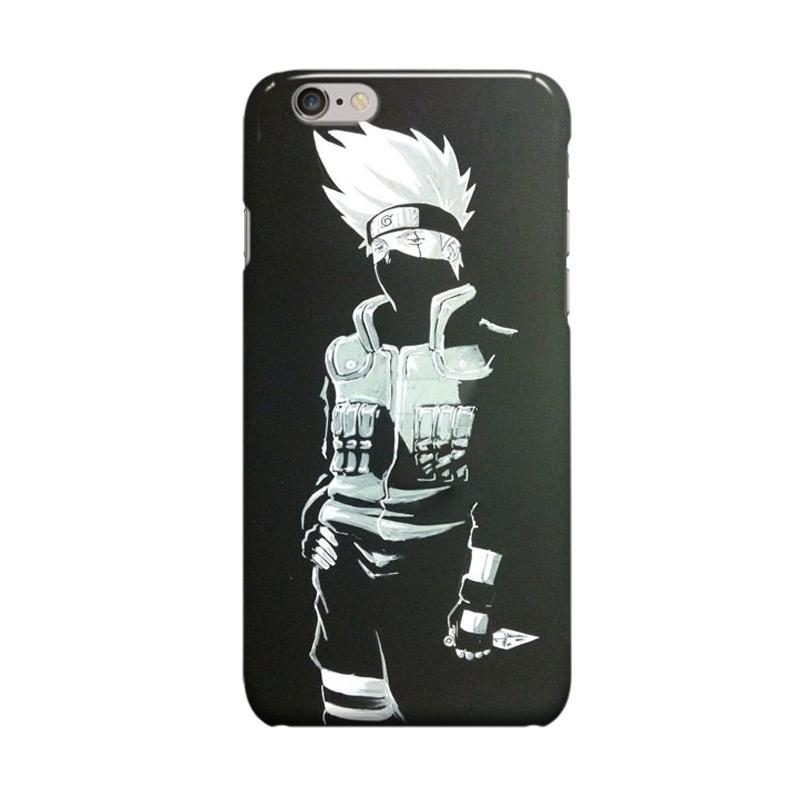 Indocustomcase Anime Naruto Series ID14 Cover Casing for Apple iPhone 6 Plus or 6S Plus
