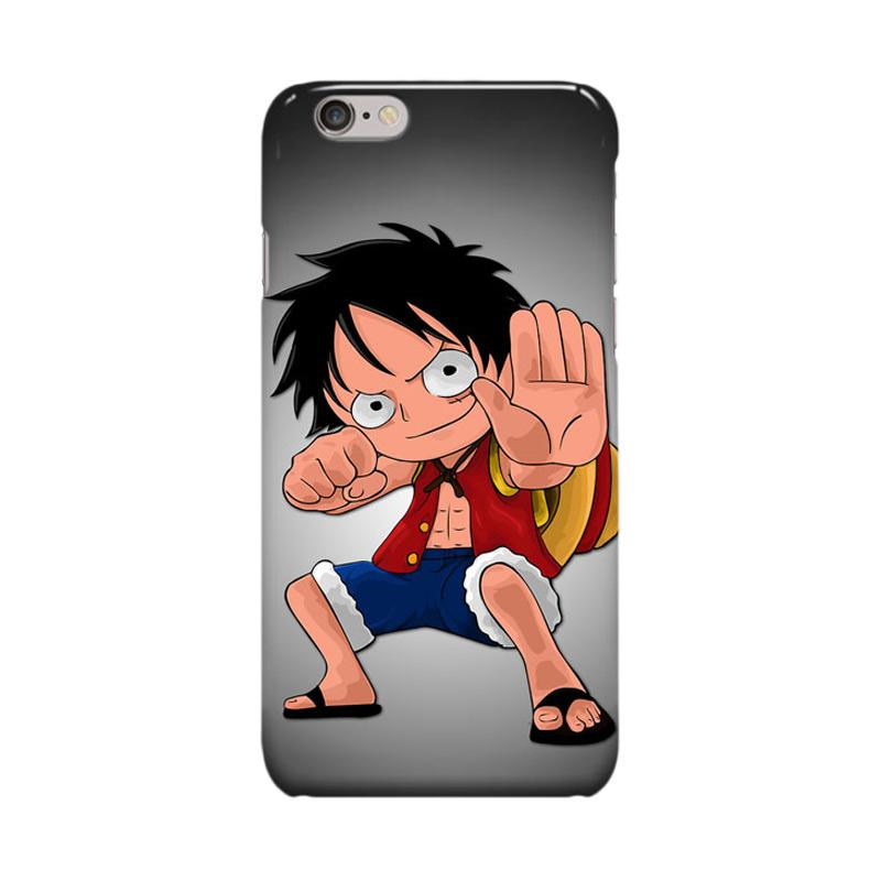 Indocustomcase Anime One Piece Series ID20 Cover Casing for Apple iPhone 6 Plus or 6S Plus