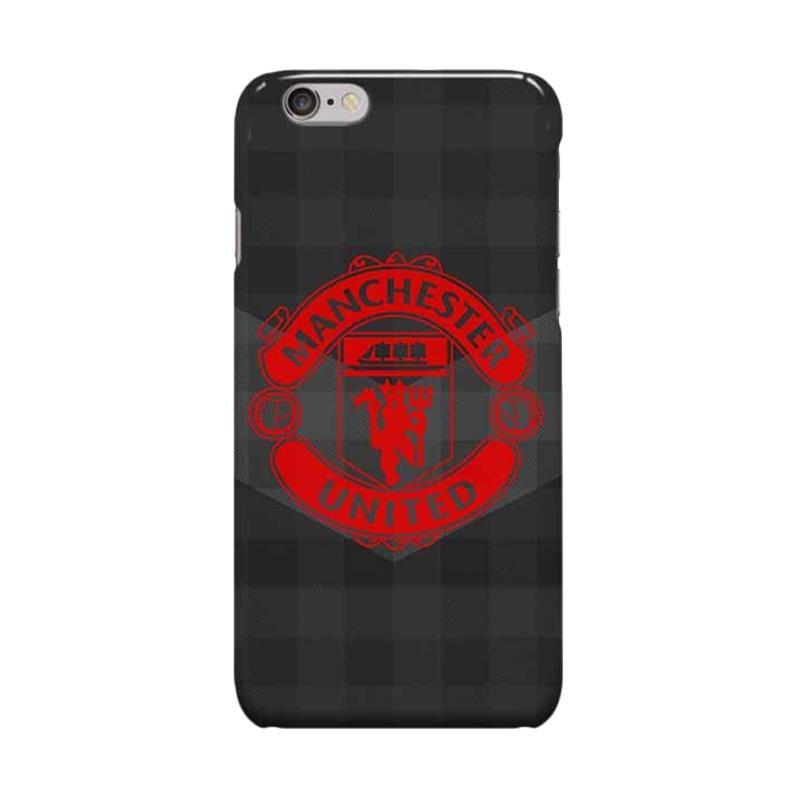 Indocustomcase Menchester United Logo MANU07 Casing for Apple iPhone 6 Plus or 6S Plus