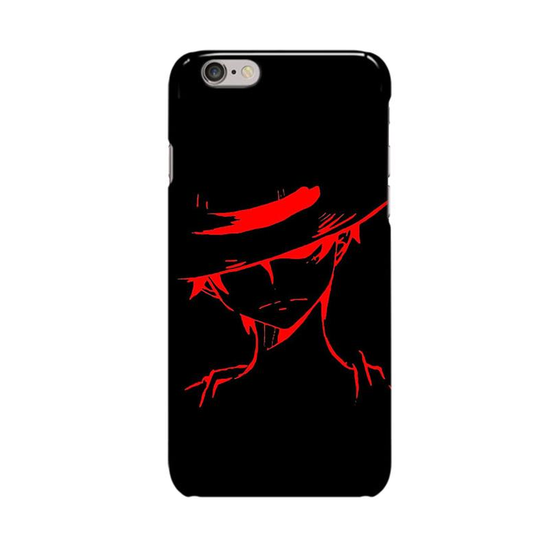 Indocustomcase Anime One Piece Series ID04 Cover Casing for Apple iPhone 6 Plus or 6S Plus