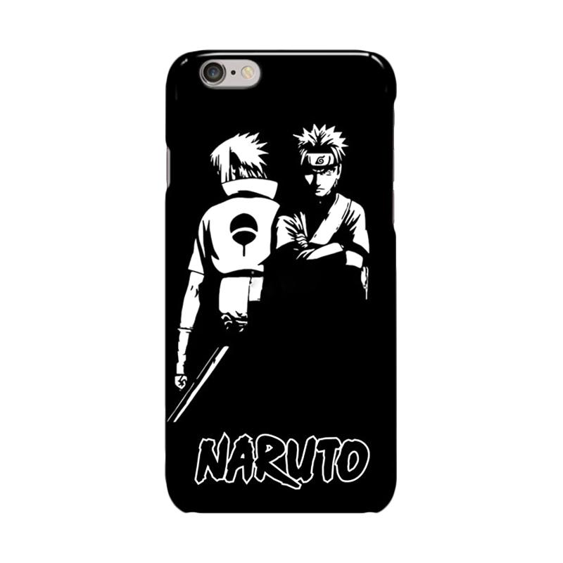 Indocustomcase Anime Naruto Series ID09 Cover Casing for Apple iPhone 6 Plus or 6S Plus