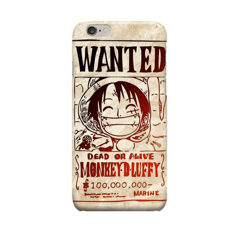 Indocustomcase Anime One Piece Series ID18 Cover Casing for Apple iPhone 6 Plus or 6S Plus