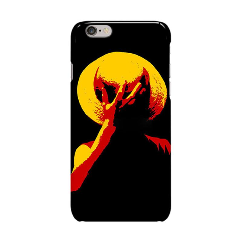 Indocustomcase Anime One Piece Series ID19 Cover Casing for Apple iPhone 6 Plus or 6S Plus