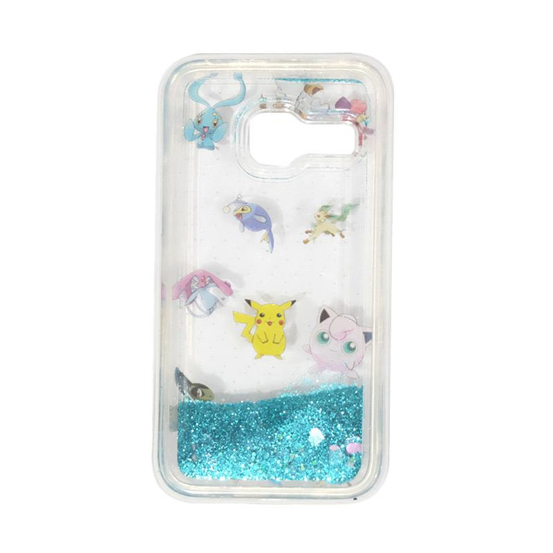 harga VR Softcase Softshell Aquarium Water Glitter Pokemon Edition for Samsung Galaxy J1 Mini - Versi 3 Blibli.com