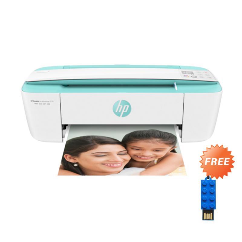 harga HP DeskJet Ink Advantage 3776 All-in-one Printer [T8W39B] + Free LEGO USB Flashdisk 16GB - Biru Brick Merah [P-FDI16GLEGOB-GE] Blibli.com