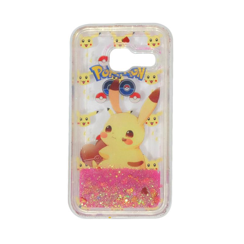 harga VR Aquarium Water Glitter Pokemon Edition Softcase Casing for Samsung Galaxy J1 Mini - Versi 6 Blibli.com