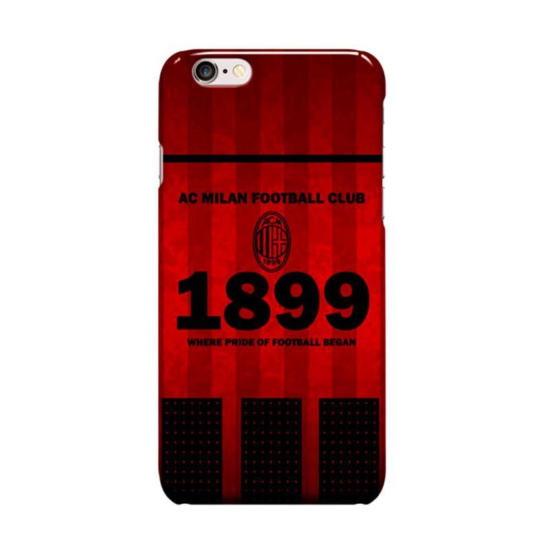 Indocustomcase AC Milan FC ACM03 We Are AC Milan Cover Casing for Apple iPhone 6 Plus or 6S Plus