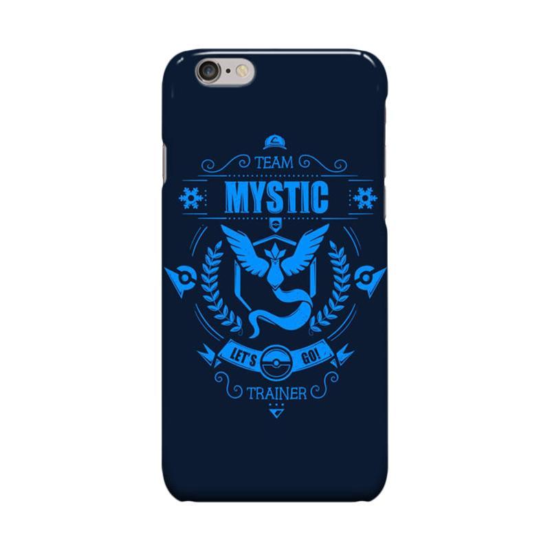 Indocustomcase Team Mystic Pokemon Go Cover Casing for Apple iPhone 6 Plus or 6S Plus