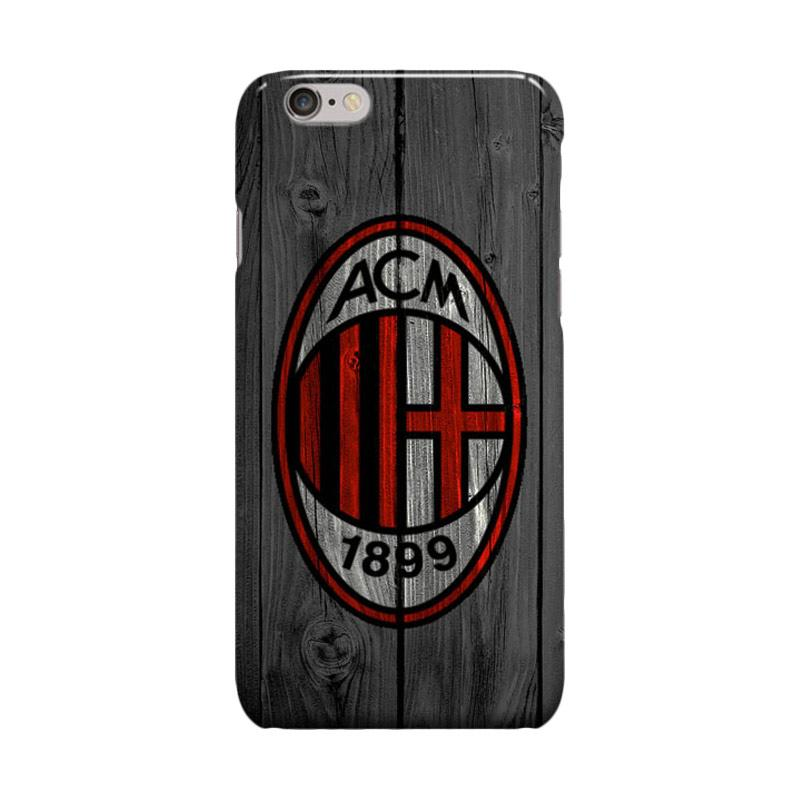 Indocustomcase AC Milan FC ACM06 We Are AC Milan Cover Casing for Apple iPhone 6 Plus or 6S Plus