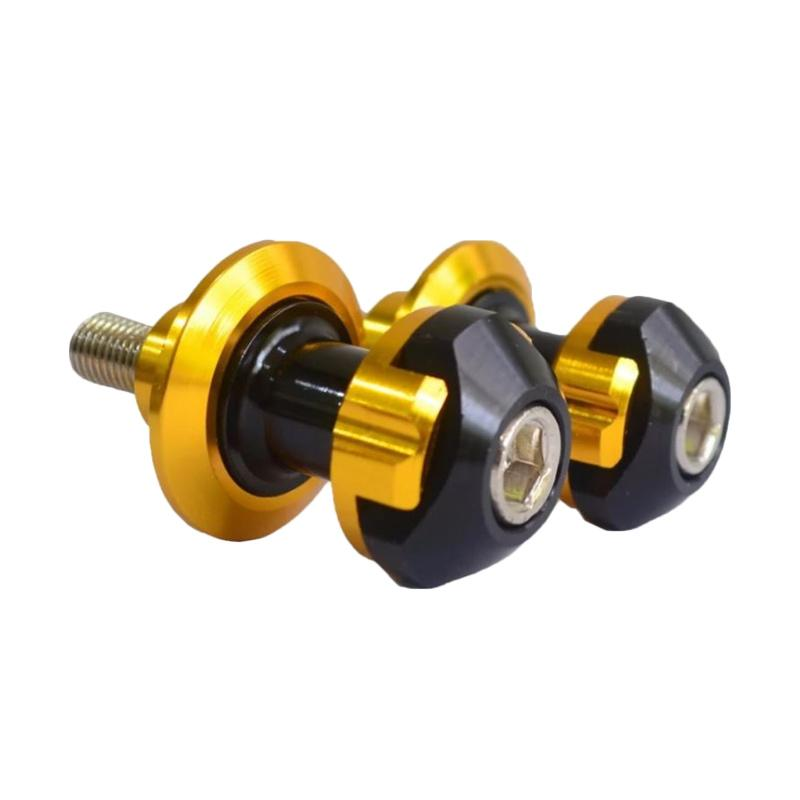 Raja Motor Stabilizer Jalu Paddock Almunium for Kawasaki Ninja 250 Model Bumblebee- Gold [STZ9051-Gold]