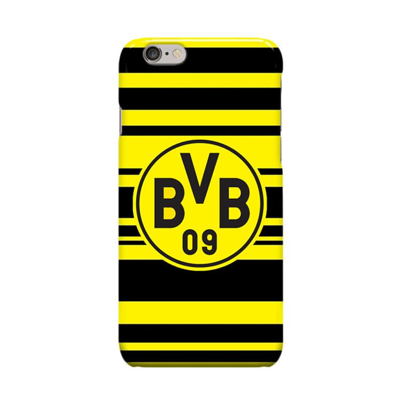 Indocustomcase BVB Borussia Dortmund 2 Casing for Apple iPhone 6 Plus or iPhone 6S Plus