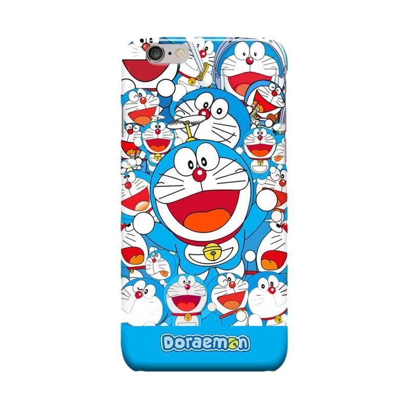 Indocustomcase Cartoon Doraemon Sticker Bomb Cover Casing for Apple iPhone 6 Plus or iPhone 6S Plus