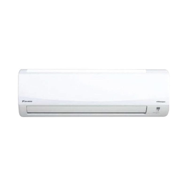 Daikin FTKC25QV AC Inverter Thailand R410 [1PK] + Instalasi+Vacum+Pipa Set(Pipa tebal 0,6mm Panj 5Mtr,Braket,Kabel,Duct Tape Lem)