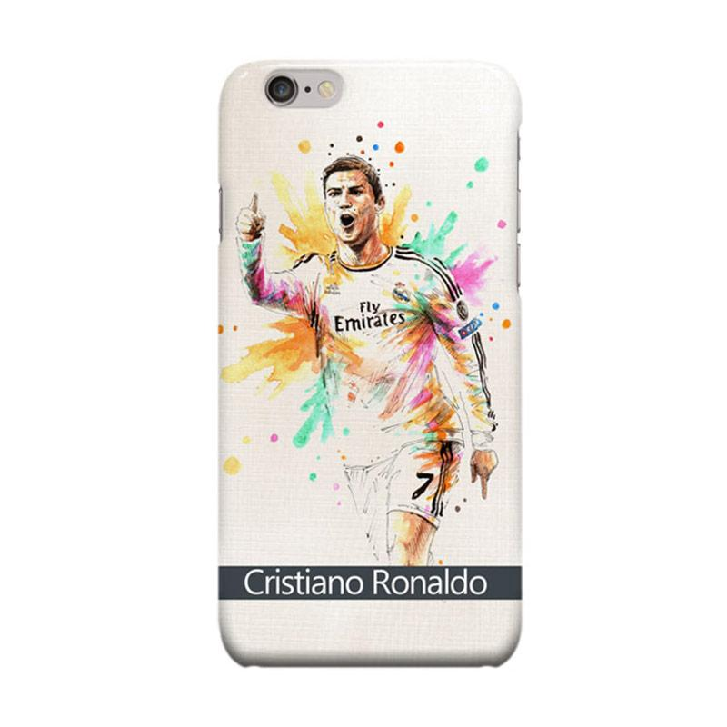 Indocustomcase CR7 Cristiano Ronaldo RMA Cover Casing for Apple iPhone 6 Plus or 6S Plus
