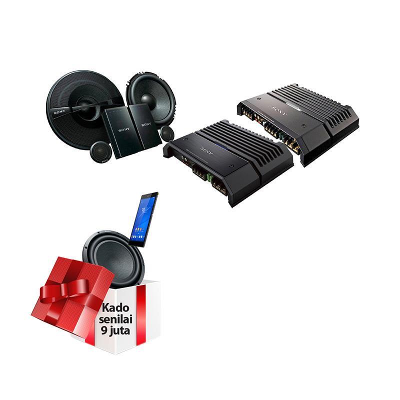 harga SONY Hires Paket Audio + Free Subwoofer Sony XS-GSW121 + Sony Z3 Tablet Blibli.com