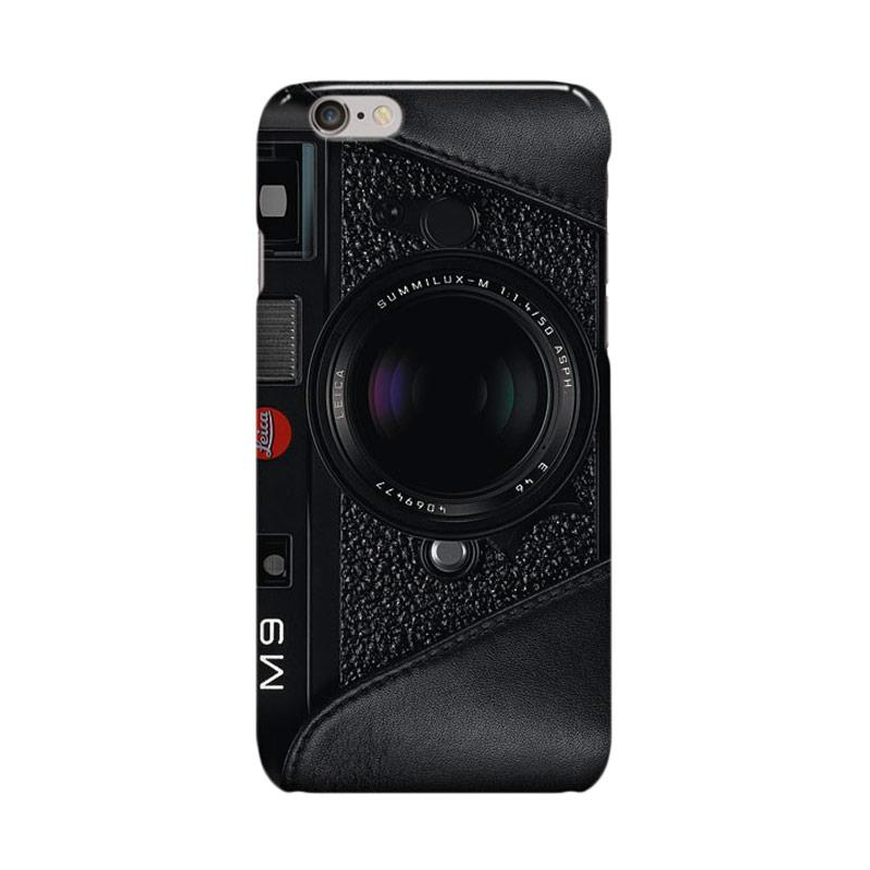 Indocustomcase Camera Leica M9 With Leather Casing for Apple iPhone 6 Plus or iPhone 6S Plus