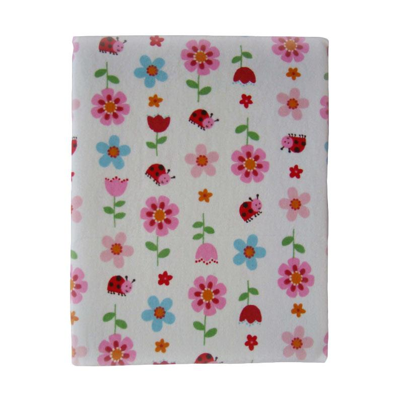 Carter Keep Me Dry Quilted Pads Flower & Ladybug Perlak Bayi [70 x 120 cm]